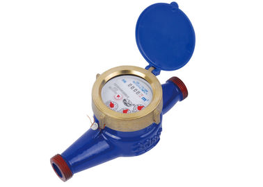 Cina Super Dry Cold Multi Jet Water Meter, Iron Water Meter DN15mm - 50mm LXSG-15 ~ 50 pabrik
